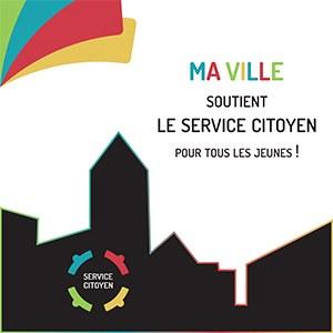 """""""Ma ville soutient le service citoyen pour tous les jeunes!"""""""